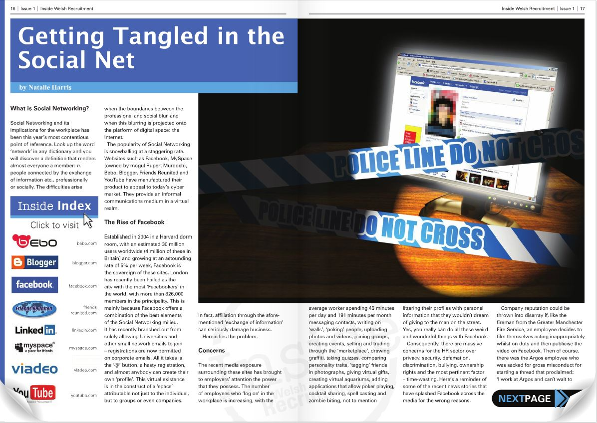 Getting Tangled in the Social Net - Part 1